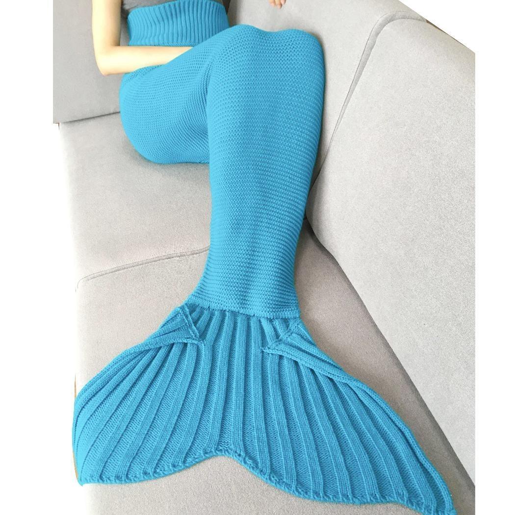 Cobija Cola De Sirena Tejidas Crochet Manta Envío Gratis - $ 368.90 ...