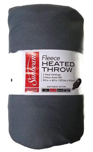 cobija manta frazada termica electrica subnea fleece 125x150