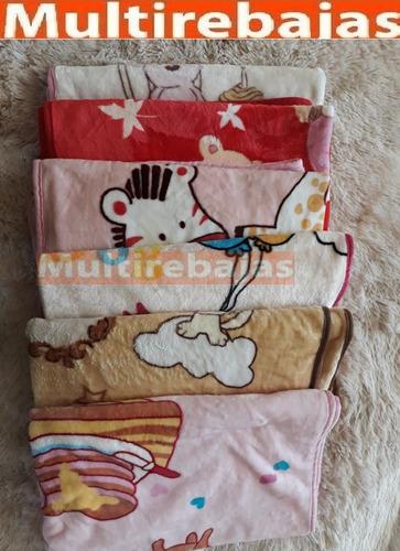 cobija manta térmica suave antialergica ideal para bebe