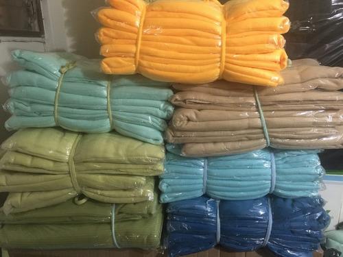 cobijas manta polar varios  colores