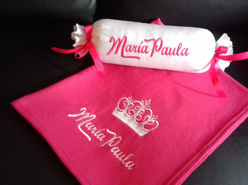 cobijas mantas para bebe bordada personalizada