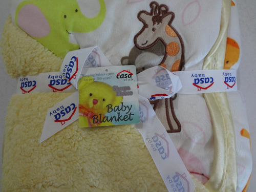cobijas reversible para bebés (ninos y niñas)