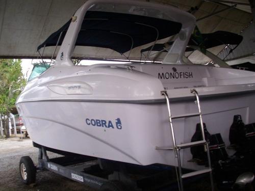 cobra 30 2004 02 mercruiser 4.3 230hp - marina atlântica