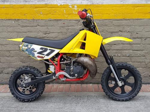 cobra moto para niños motor 50cc pitbike cross