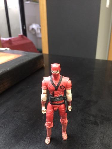 cobra ninja vermelho -  g.i.joe 25th usado
