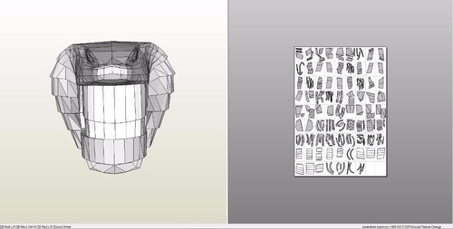 cobra stargate mascara plantillas arte en papel