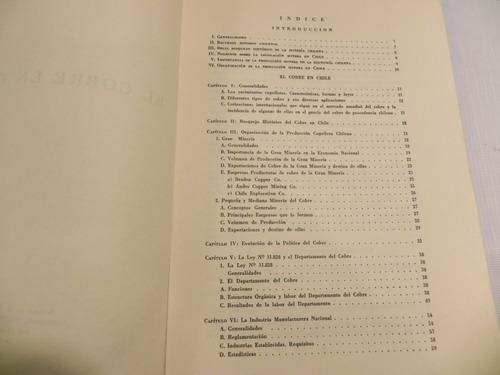 cobre en chile 1960