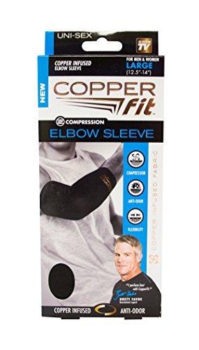 cobre fit original codo de recuperacion negro con borde de c