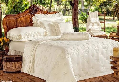 cobre leito andorra s king 3pçs palha 400 fios 100% algodão