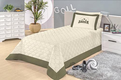cobre leito bordado para quarto de menino