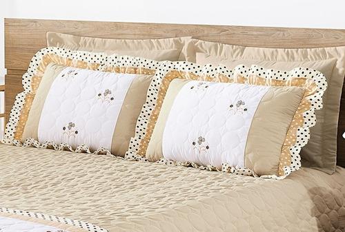 cobre leito cama casal