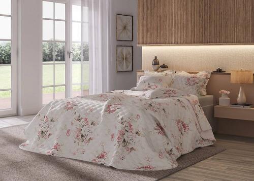 cobre leito com porta travesseiro karsten 300 fios regan kin