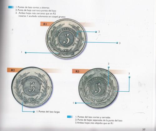 cobres - variantes del monetario clasico uruguayo 1840 1855