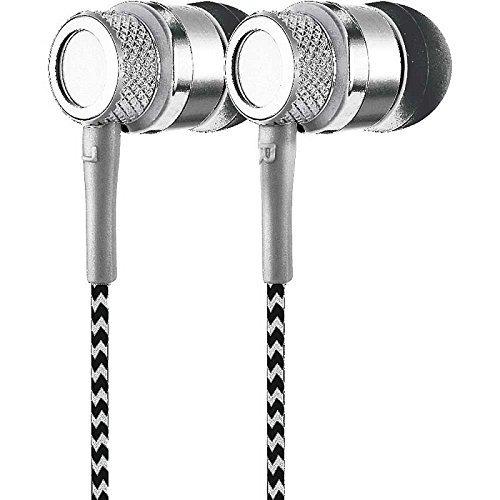 coby cv-e200sl jammerz auriculares estéreo de metal cve200