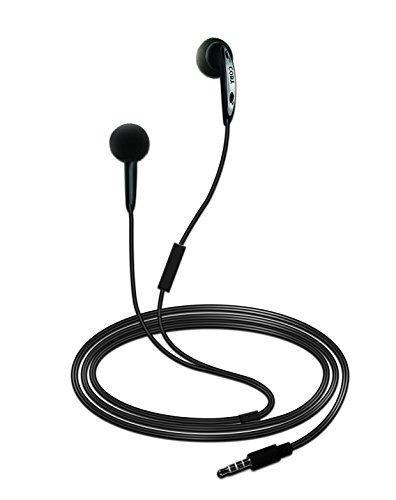 coby cve-105-blk auriculares estéreo