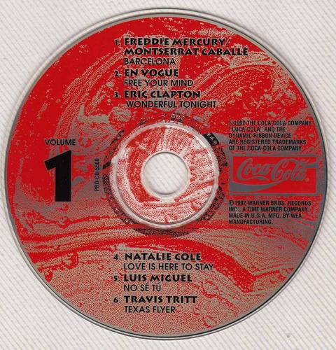 coca cola barcelona cd 92 freddie mercury monserrat caballe
