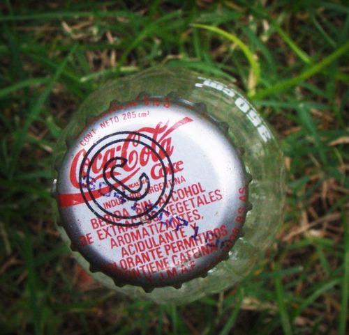 coca cola botella