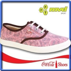 coca-cola calzado champión alto bota botita en lona d dama
