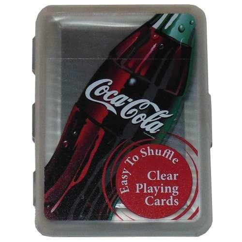 coca-cola clear juego de cartas
