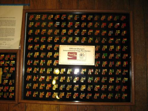 coca cola coleccion pines juegos olimpicos los angeles 1984