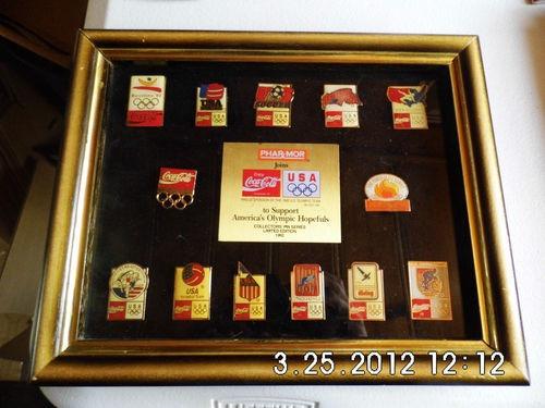 coca cola coleccion pines patrocinador equipo usa 1992