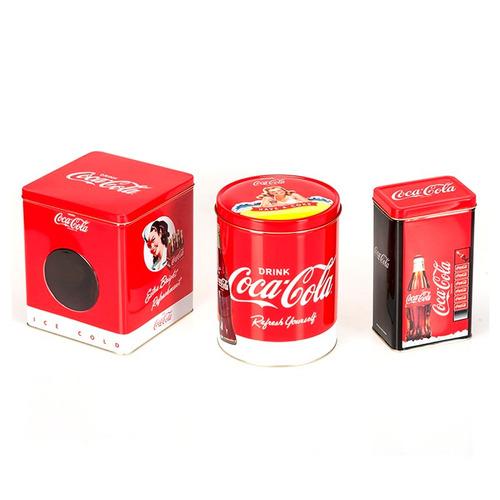 coca-cola coleccionable lata