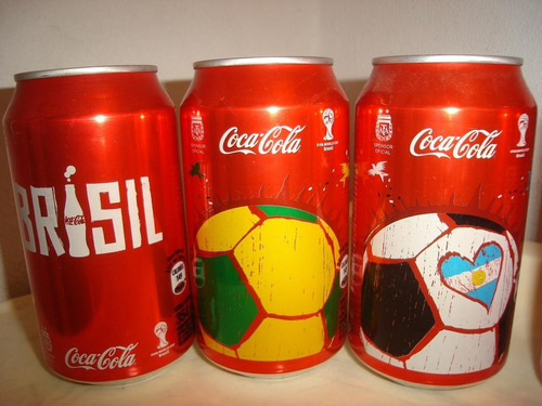 coca cola latas