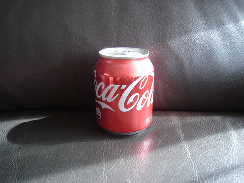 coca cola - mini lata 2015 - 237 ml - coleccionable