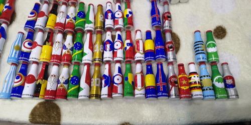 coca cola mini mundialista  bélgica japón francia,italia, ks