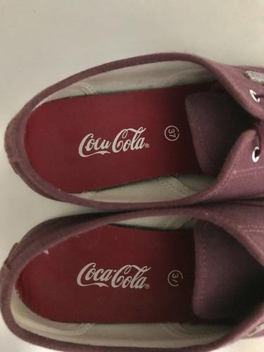 coca cola tênis