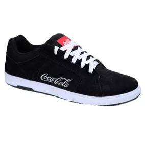 33472a39091 Coca Cola Tênis Masculino Bordado Lançamento Sapatênis Surf