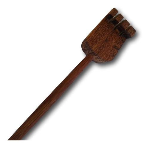 coçador de costa artesanal de madeira unidade ref. 0153