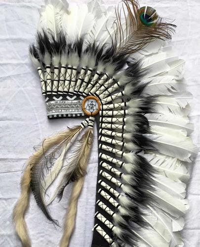 cocar indígena americano  longo !!! frete grátis !!!!