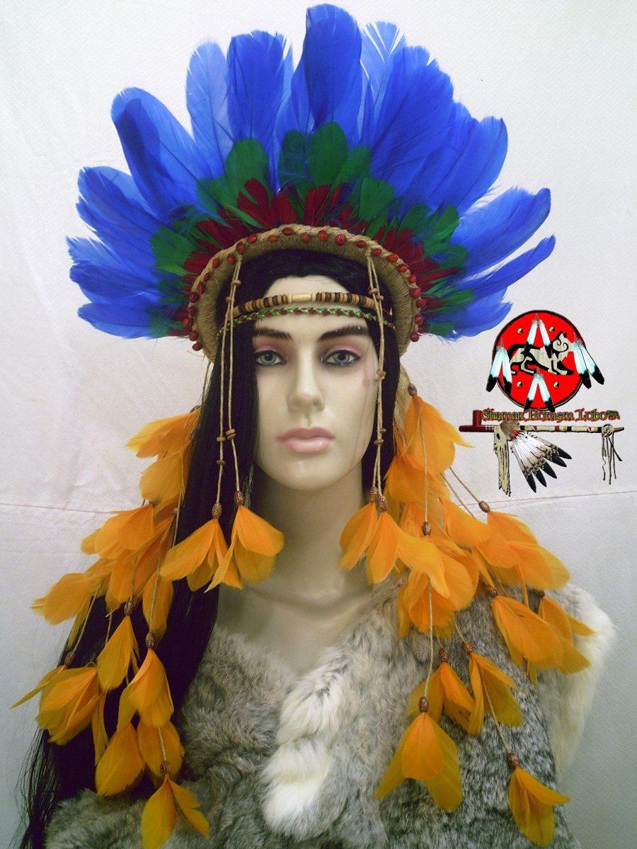 Aparador Negro Barato ~ Cocar Indigena Brasileiro Xamanismo Penacho Umbanda Indio R$ 455,00 em Mercado Livre