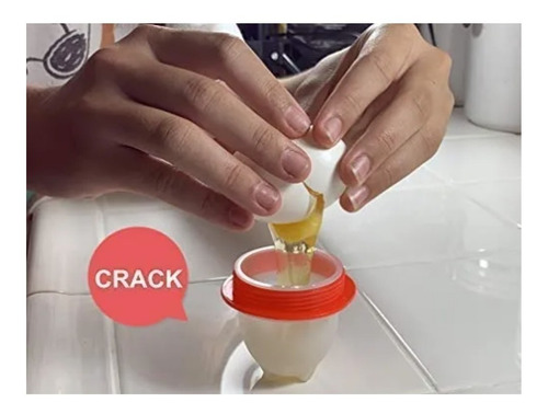 cocedor de huevos cocedor para huevos duros -  6 huevos