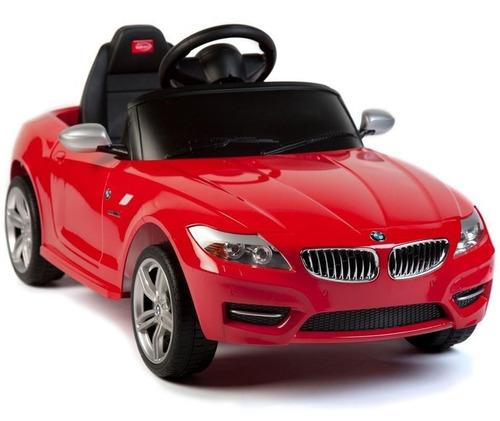 coche a batería bmw z4 rastar cont remoto led mp3 env gratis