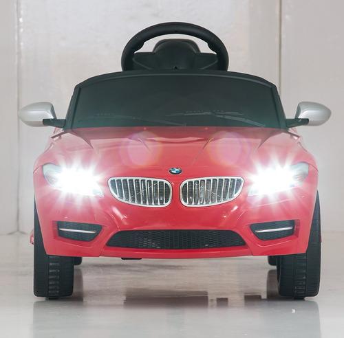 coche a batería bmw z4 rastar control remoto led mp3 bocina