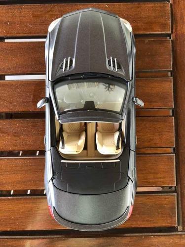 coche a escala 1/18 mercedes benz sl 65 amg, marca maisto...