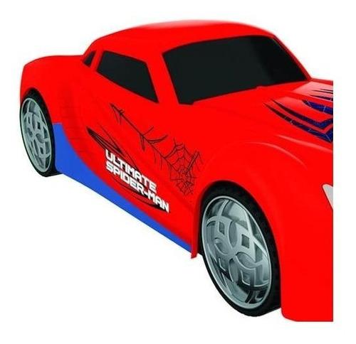 coche a fricción spider car original ultimate spider man