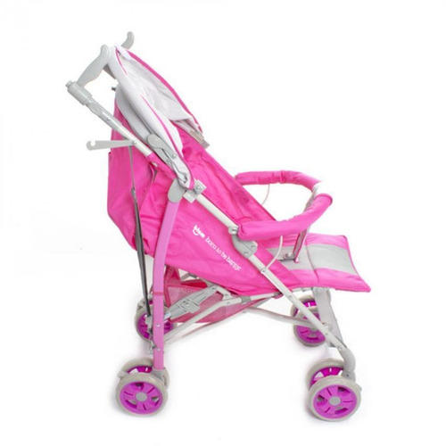 coche baby buggy steel pink jolly a66178