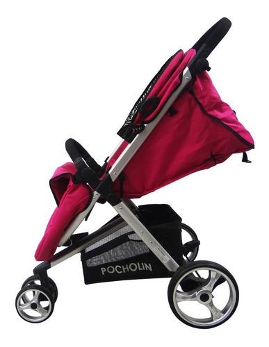 coche bebe 3 ruedas con porta bebe travel system pocholin