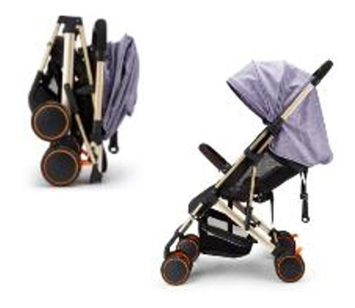 coche bebé compacto ultraliviano pliega tamaño mochila