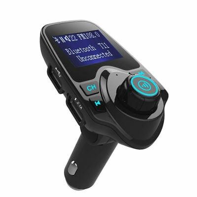 coche bluetooth v4.0 fm transmisor de doble puerto de usb