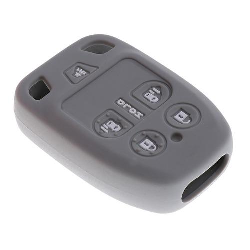 coche clave fob protector silicona cubierta caso 6 botones p