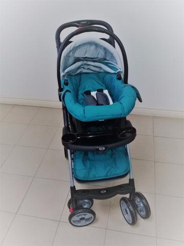 coche con porta bebe
