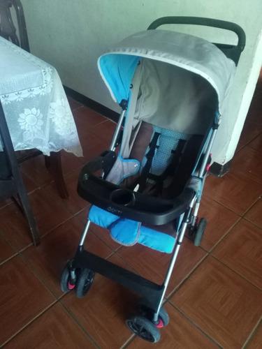 coche con silla de carro