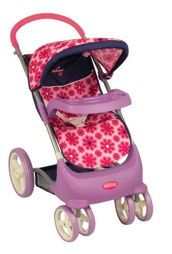 coche c/silla+cuna rosa t51r