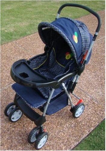 coche cuna de bebé modelo canata tres posiciones, 2 colores