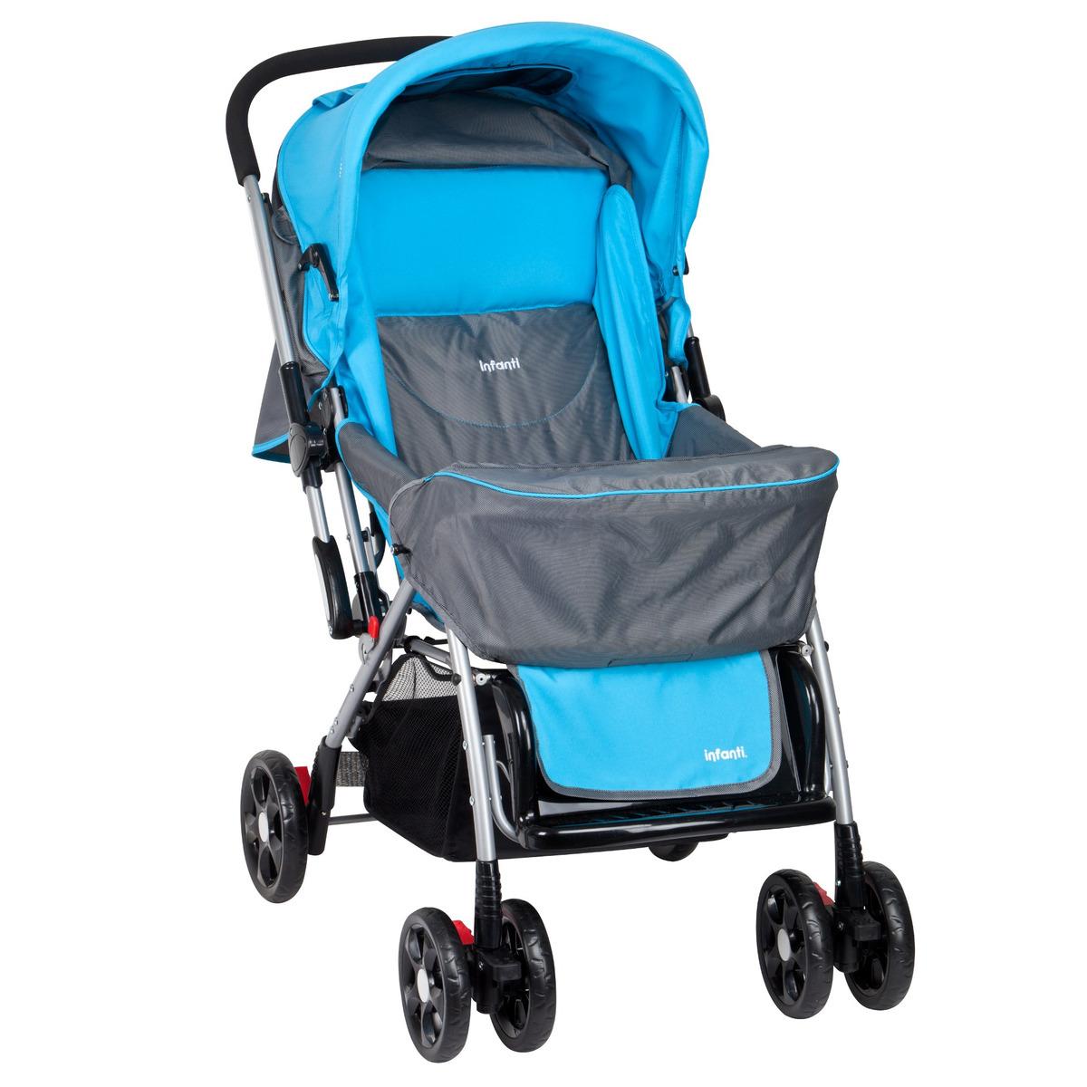 3dea4fd6a Coche Cuna Yazi Colors Blue Infanti - $ 79.990 en Mercado Libre