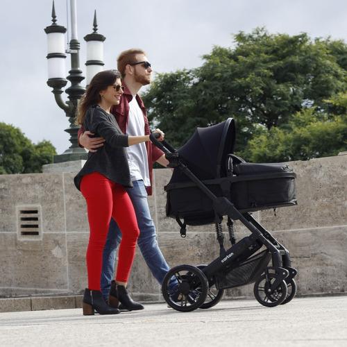 coche de bebe con huevito 3 en 1 convertible en asiento moises cuna primera calidad cartan tres en uno nuevo modelo